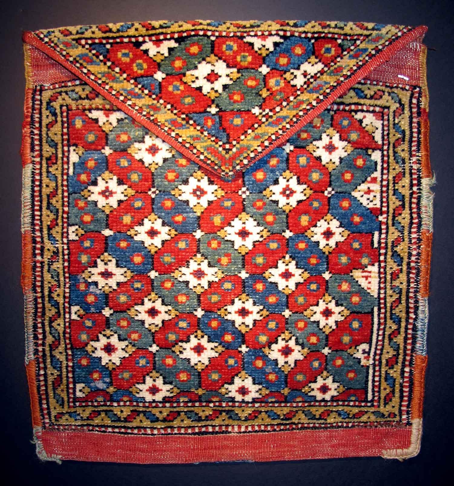 Bergama-koran-bag,-west-Anatolian,-19th-century.-Peter-Pap,-CA