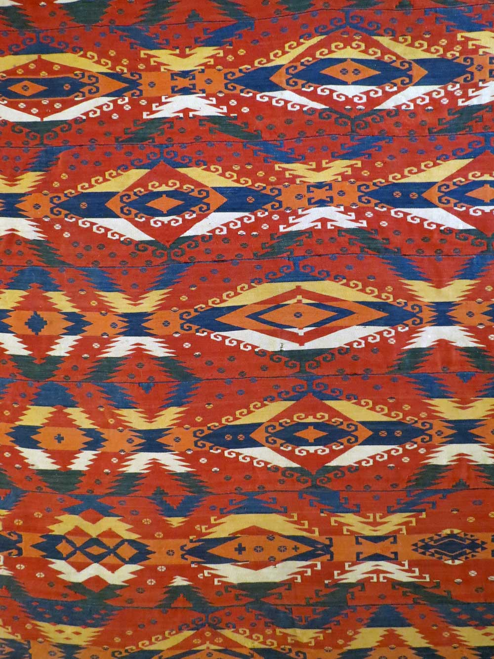 Gajeri kilim (detail) North Afghanistan