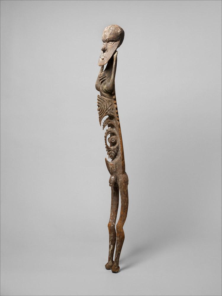 Nelson Rockefeller Male Figure, Inyai-Ewa people, Papua New Guinea, Korewori River, 16th–19th century
