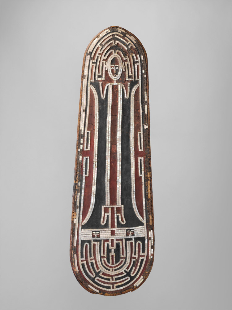 Nelson Rockefeller Shield (Grere'o [?]), Solomon Islands, early to mid-19th century