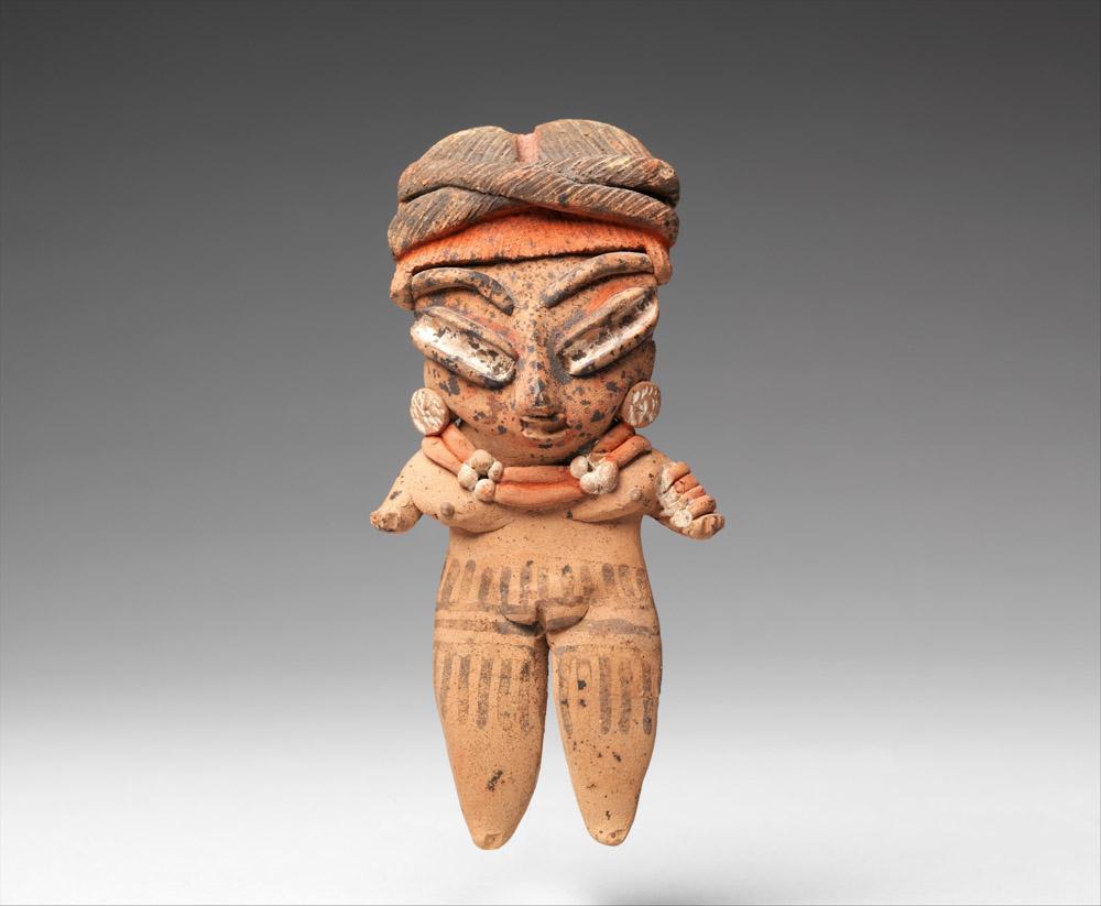 Female ceramic figure, Chupicuaro, Michoacan, Mexico, 3rd century BCE–4th century CE