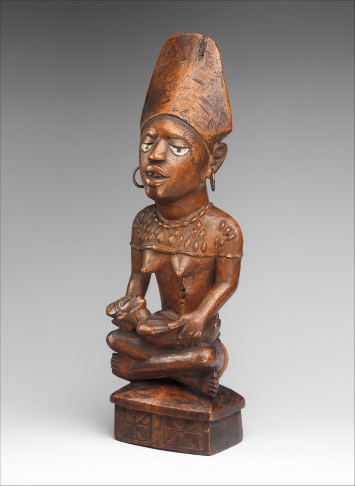 Mother and child figure, Kongo, Yombe group, 19th–20th century