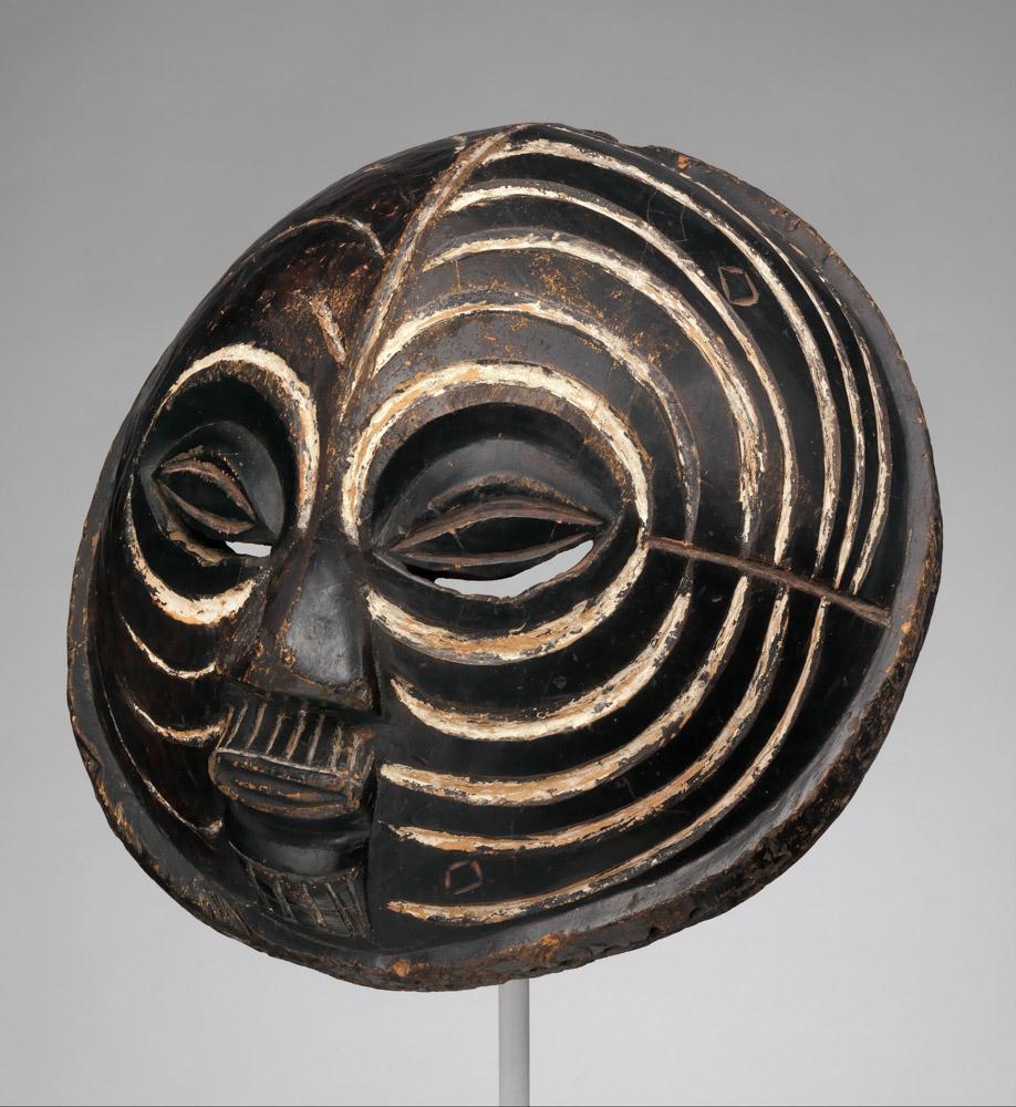 Mask (Kifwebe), Luba peoples, Congo, 19th–mid-20th century