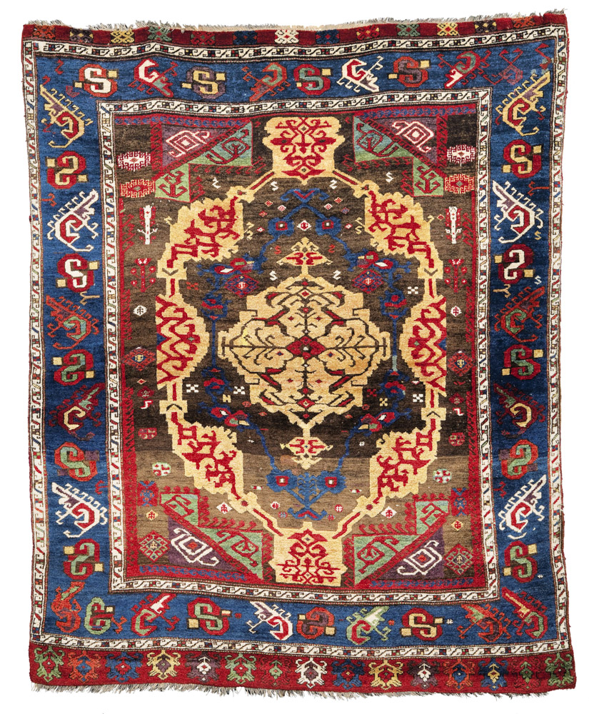 Lot 120. Property from the collection of William Ballard A central anatolian village rug, 18th century, 5ft. 11in. by 4ft. 10in. (1.80 by 1.47m.) Estimate 40,000 — 60,000 USD Lot sold. 125,000 USD