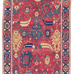 Lot 29 A NORTH WEST PERSIAN KELLEH 18TH CENTURY 16ft.11in. x 6ft.10in. (515cm. x 208cm.) £8,000-12,000
