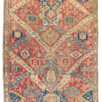Lot 33 A CAUCASIAN 'DRAGON' CARPET PROBABLY KARABAGH, SOUTH CAUCASUS, LATE 18TH CENTURY 18ft.5in. x 8ft.8in. (559cm. x 263cm.) £10,000-15,000