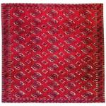 Lot 123: Saryk main carpet, Turkmenistan circa 1830, 7ft. 6in. x 7ft. 9in. Estimate: € 10,000 – 12,000