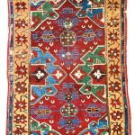 Lot 148: Central Anatolian village rug, Turkey 18th century, 6ft. 1in. x 4ft. 6in. Estimate: € 7,000 – 9,000