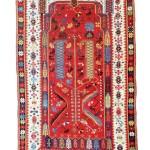 Lot 150: Melas prayer rug, Turkey circa 1840, 5ft. 8in. x 3ft. 7in. Estimate: € 7,000 – 9,000