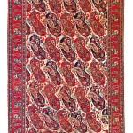 Lot 176: Qashqa'i carpet, Persia circa 1850, 10ft. 3in. x 5ft. 11in. Estimate: € 5,000 – 7,000