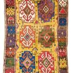 Lot 67: Konya rug, Turkey first half 19th century, 7ft. 9in. x 4ft. 5in. Estimate: € 9,000 – 11,000