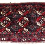 Lot 85: Arabatchi chuval, Turkmenistan first half 19th century, 5ft. x 3ft. Estimate: € 10,000 – 12,000