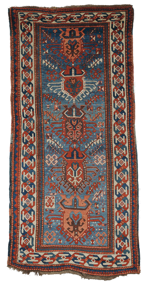 South Caucasian Rug, late 19th century (Estimate $1,200-$1,500) skinner boston
