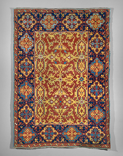 Carpets of the East in Paintings from the West