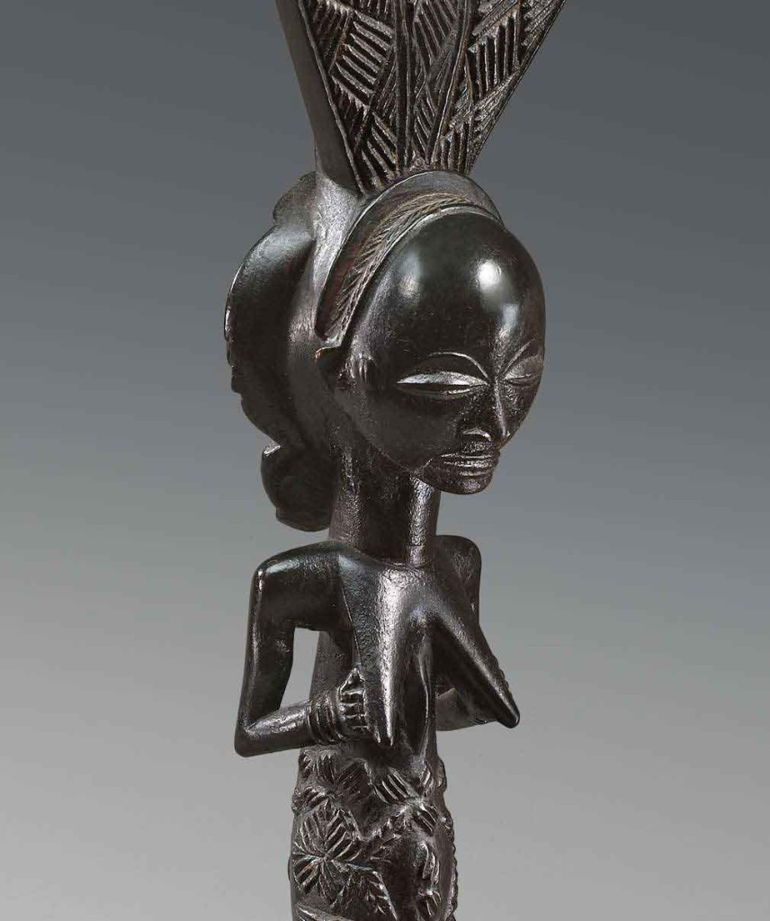 Entwistle-Attributed-to-The-Master-of-Warua-Luba--Bow-Stand--Wood-Height-64.4-cm-D.R.C,-Luba-peoples,-circa-1880