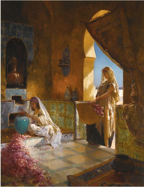 Lot 25, Rudolf Ernst, 1854-1932, The Perfume Makers Estimate £70,000 — £100,000
