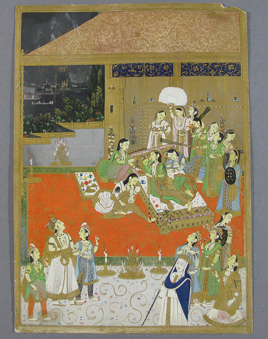 Lot 183, A Prince Visits The Zenana, Jaipur, India, Early 19th Century
