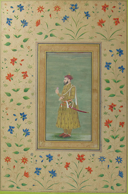 Lot 236, Portrait of Shah Jahan, (R.1628-58), Mughal, Late 17th Century