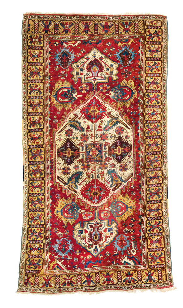 "Lot 236 Armenian carpet <br>Published in Schürmann""Teppiche aus dem Orient"" 1976, page 181 Armenia 18th century<br> Estimate: € 15,000 – 18,000"