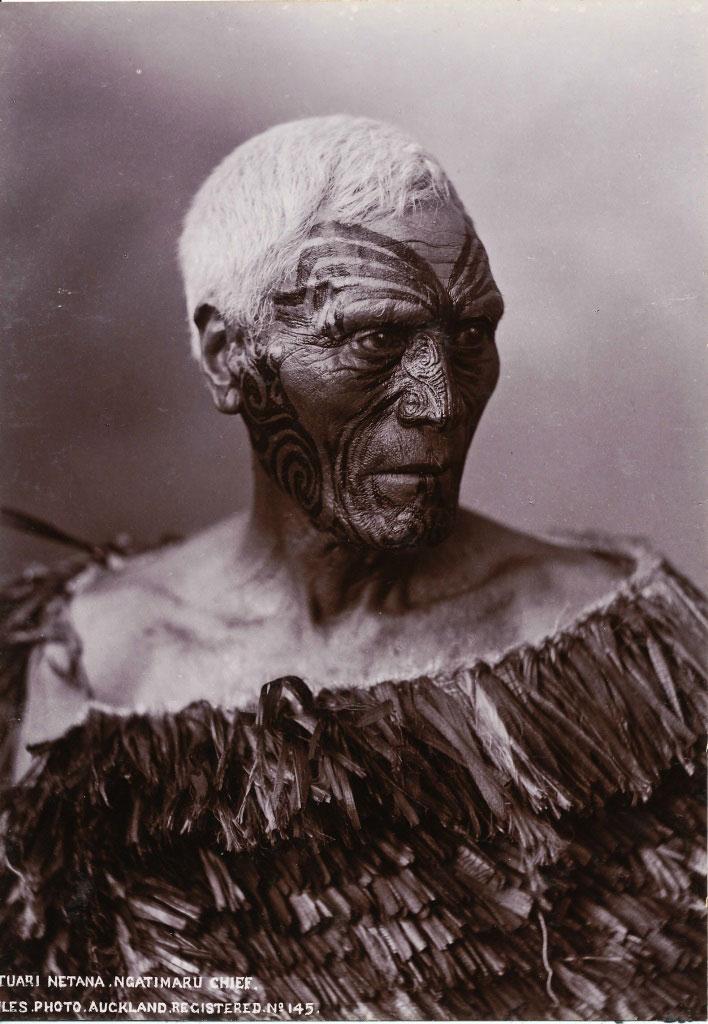 reweb,LisaTao-Maori-Chief-with-Moko-tattoo.-Photographer--Iles,-Auckland.-c1890.