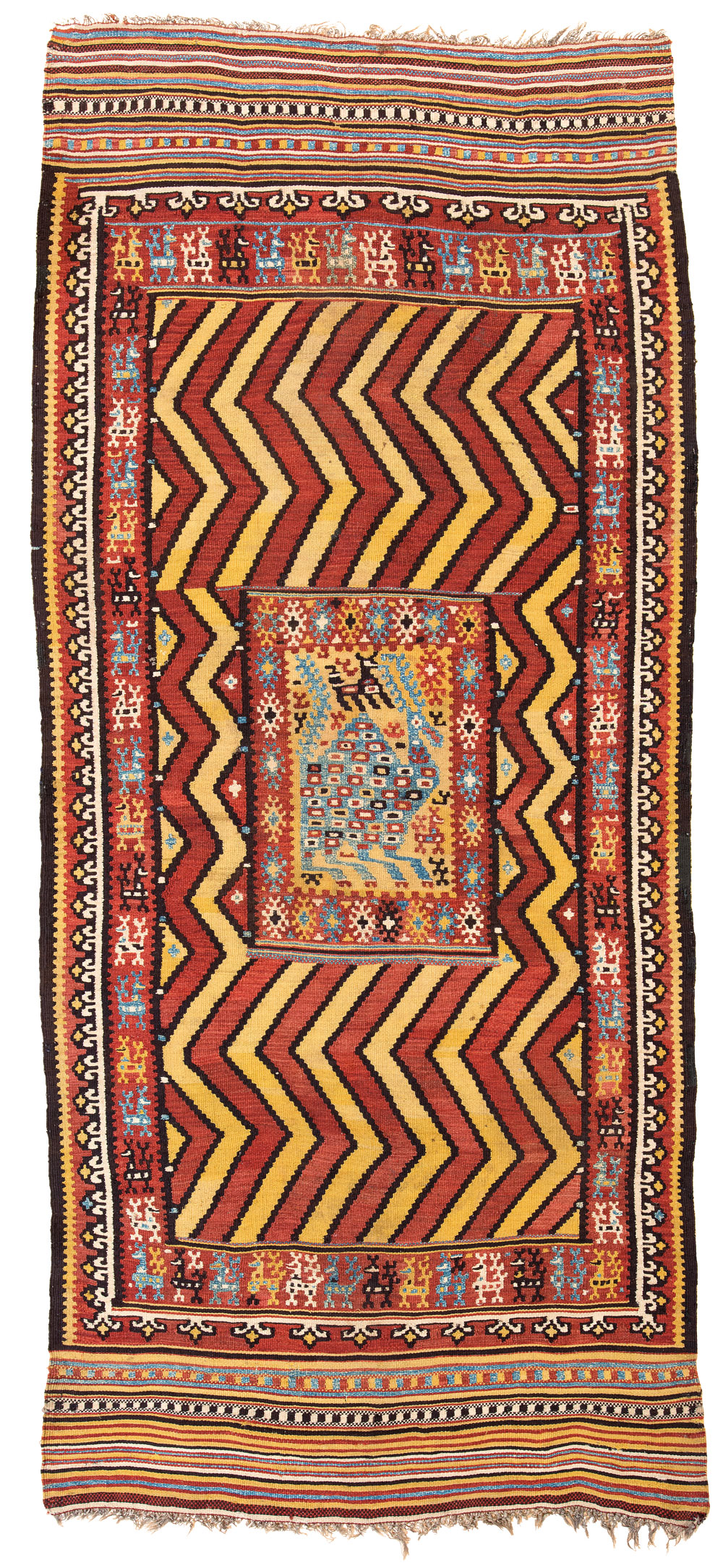 Click here to see Alberto Boralevi's article on a rare Italian peasant rug that will be shown at Sartirana