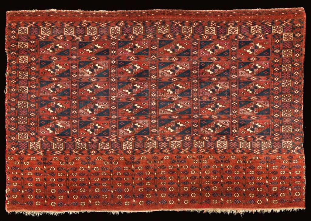 2TEKKE-CHUVAL-OR-TENT-BAG,-C1850,-TURKMENISTAN