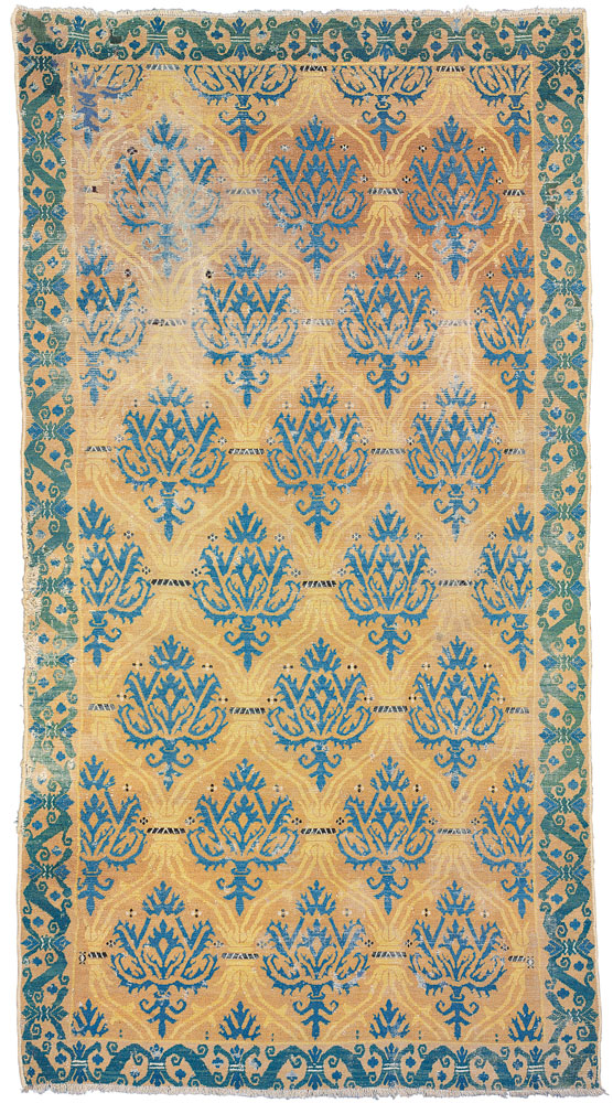 Lot 100. ALCARAZ CARPET SOUTH EAST SPAIN, SECOND HALF 16TH CENTURY 9ft. x 4ft.11in. (274cm. x 150cm.) £50,000-70,000