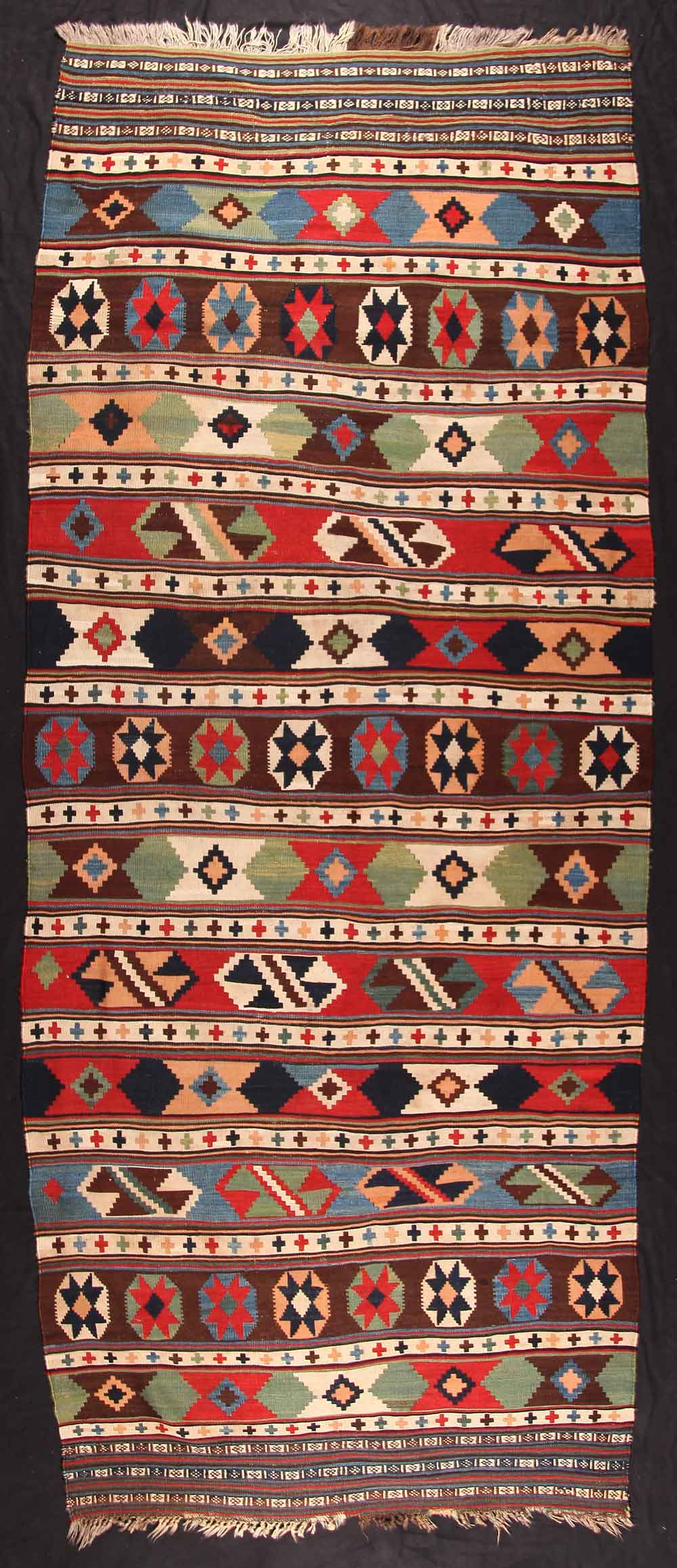 South Persian kilim, late 19th century