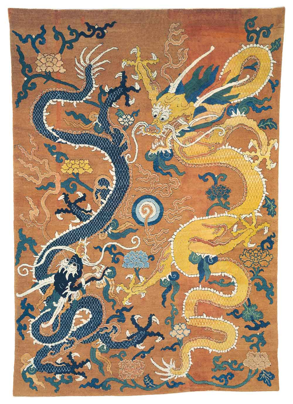 Christie's, IMPERIAL DOUBLE-DRAGON CARPET, CHINA, WANLI PERIOD