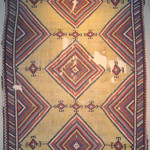Kilim, around 1800 South-Persia, Fars region, Ghashghai nomads, 190 x 360 cm. 100 Kilims, Neiriz Collection, Halle