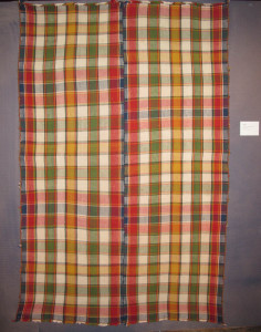Jajim (blanket), late 19th century Made from 2 parts South-Persia, Fars region, Luri tribes. 166 x 247 cm. 100 Kilims, Neiriz Collection, Halle