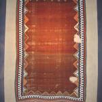 Kilim, 19th century South-Persia, Fars region, Ghashghai nomads. 124 x 248 cm. 100 Kilims, Neiriz Collection, Halle