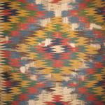 "Kilim, 19th century South-Persia, Fars region, Ghashghai nomads, Kashkuli 172 x 325 cm. ""100 kilims' at Neiriz collection at Halle"