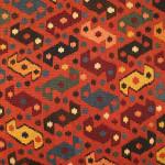 Kilims from the Neiriz Collection at the Volkspark, Halle. Shahsavan nomads, northwest Persia kilim, late 19th century, northwest-Persia, Azerbaijan. Neiriz Collection 166 x 395 cm