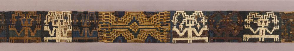 Lot 166 - Sihuas Textile Belt, ca. A.D. 400-800
