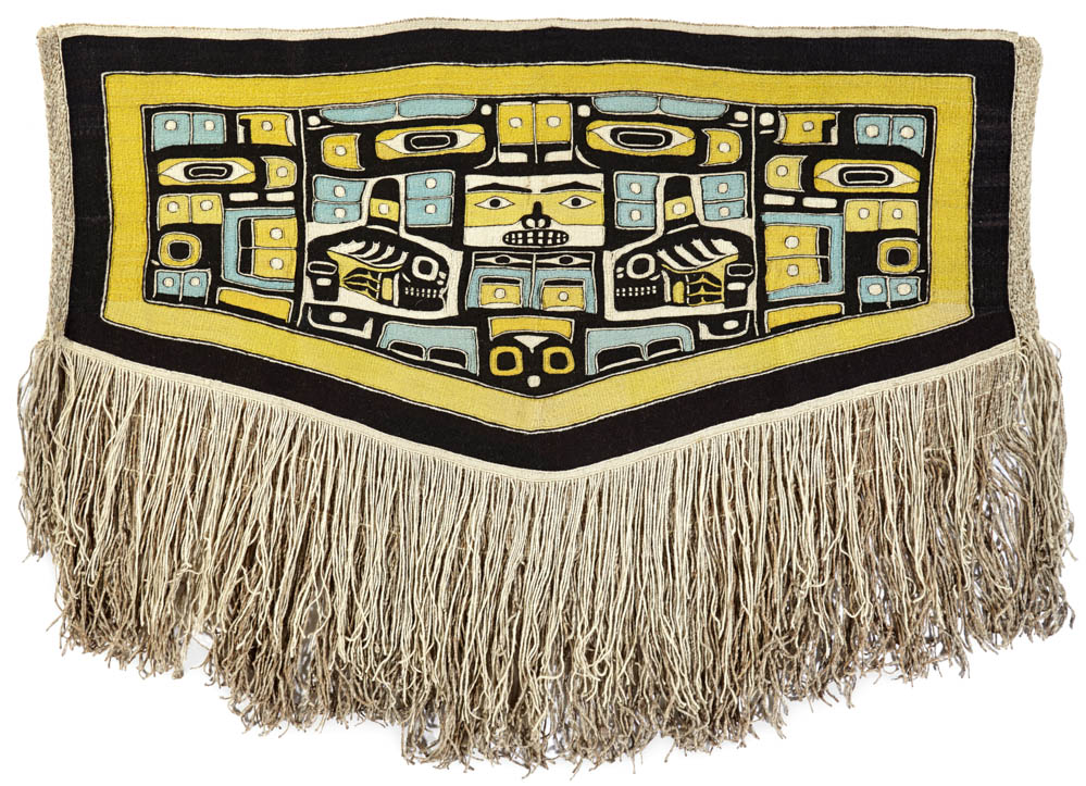 Lot 2100 - A Northwest Coast Chilkat blanket