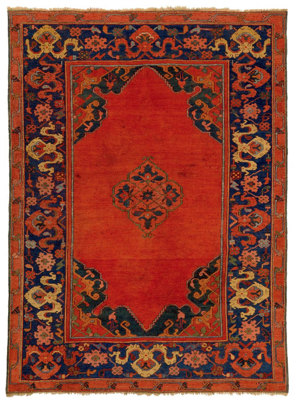Amos Gitai Ushak Carpet