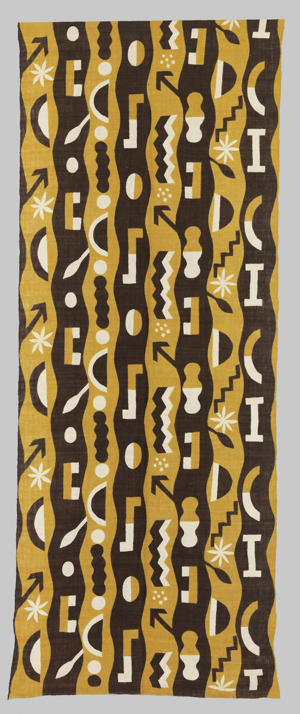 'In search of young shoots', 2002, Silk, 306 x 122 cm, Don Samirō Yunoki, 2013 - MA 12582, © Paris, RMN - Grand Palais (Musée Guimet, Paris) / Thierry Ollivier
