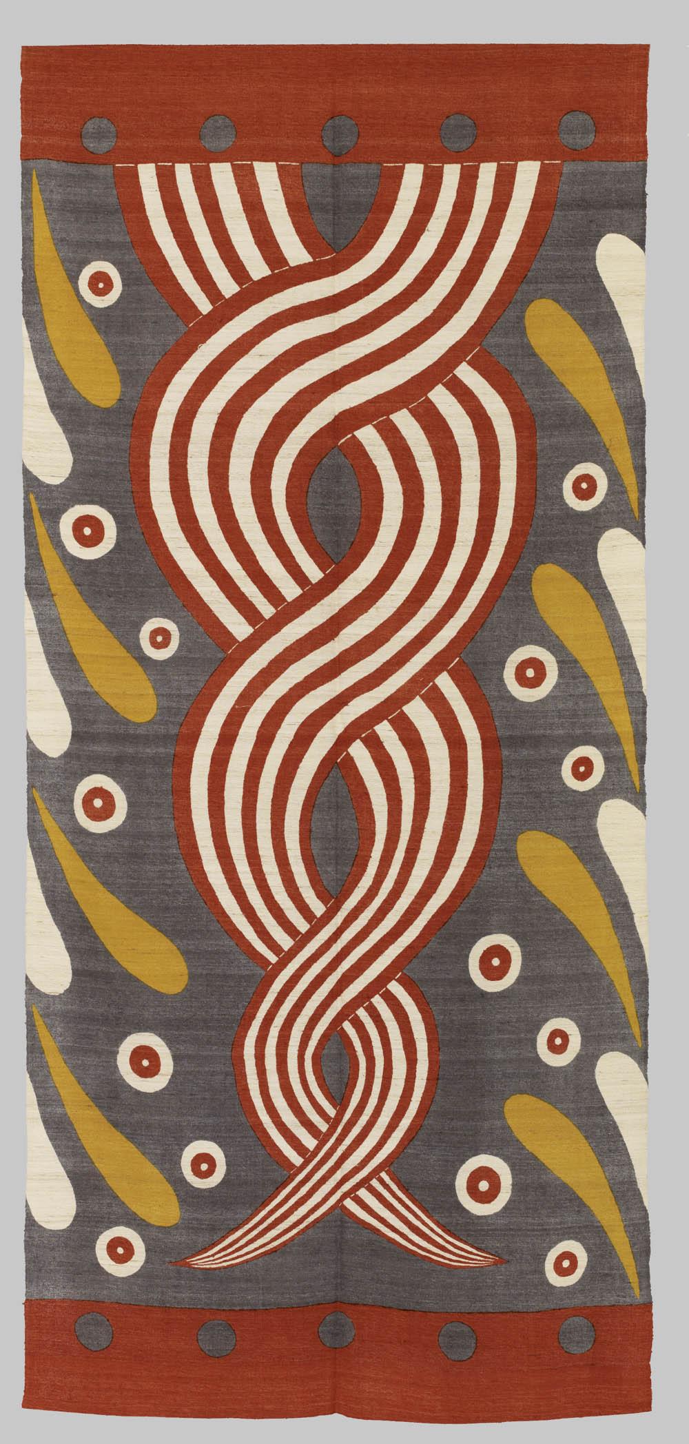 Twist, 1995, Silk, 273 x 127 cm, Don Samirō Yunoki, 2013 - MA 12577, © Paris, RMN - Grand Palais (Musée Guimet, Paris) / Thierry Ollivier