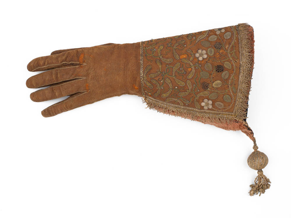 Falconry Glove, Burrell Collection