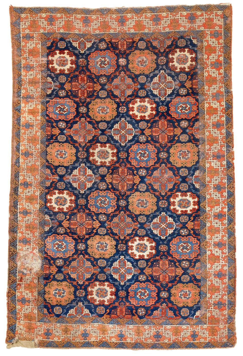 Lot 106, Tuduc, Romania, 270 x 177 cm, circa 1930, estimate €2,000.00, sold for €41,480 ($51,020)