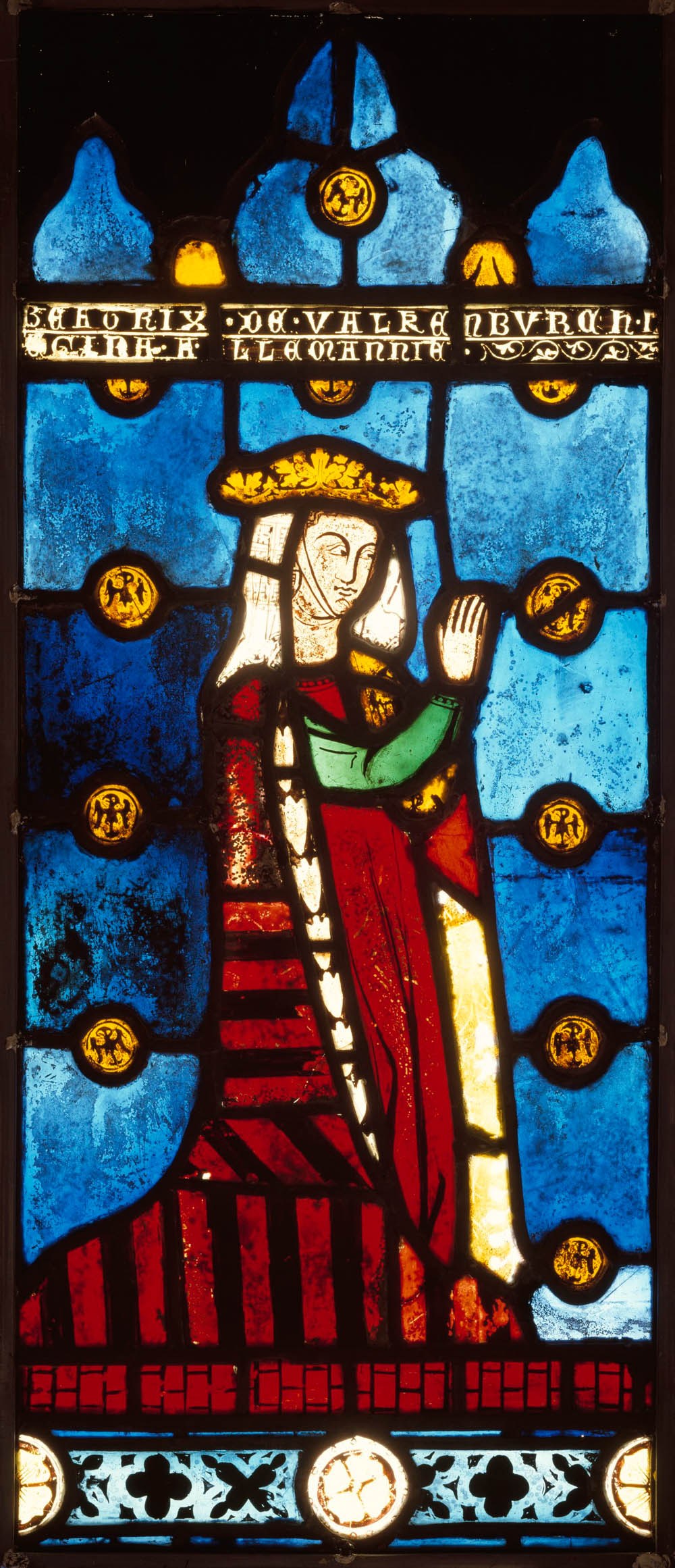 Stained Glass Panel, Burrell Collection