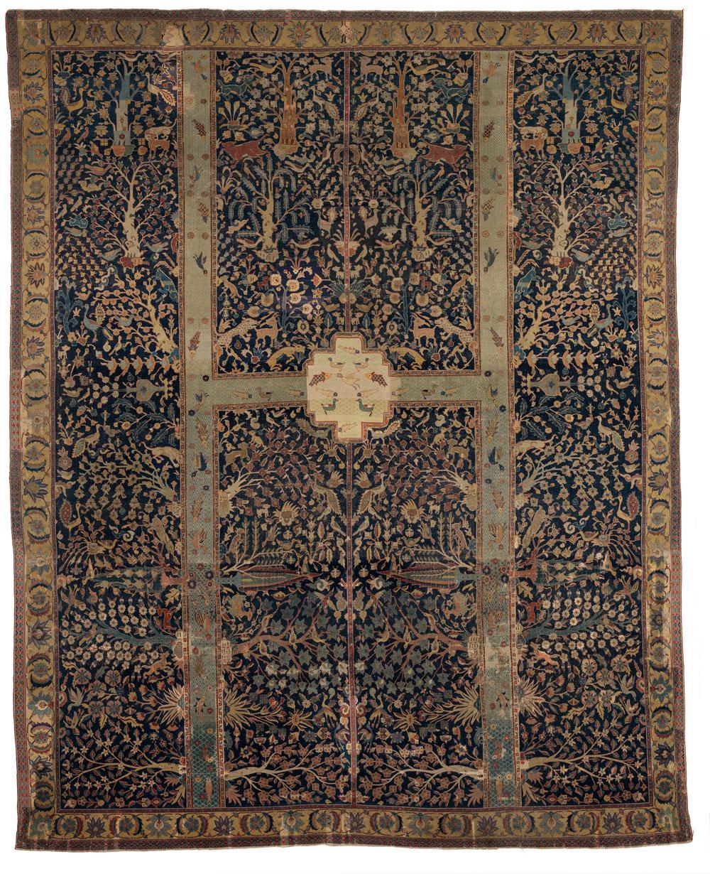 Burrell Collection Wagner garden carpet at Bonhams