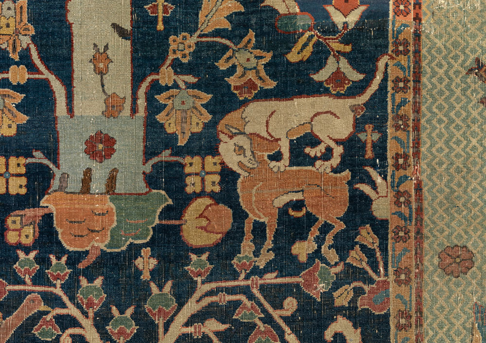 Wagner Garden Carpet (detail), The Burrell Collection