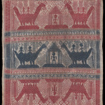 Tampan, ceremonial gift exchange cloth, Lampung, South Sumatra, 1850-1900, Samyama, Woven Connections