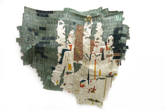 El Anatsui, Intimation, 2014