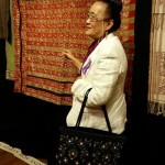 Keosiri Everinham collector of Laotian textiles, Woven Connections, Samyama