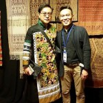 John Ang with Thummanit Phuvasatien, textile collector and designer, Chiangmai, Woven Connections, Samyama
