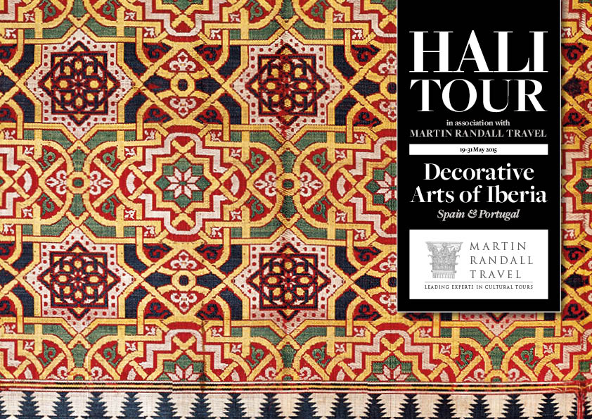 Nasrid silk lampas (detail), originally from the Alhambra Palace, Granada, Museo Lao Galdiano, day 7