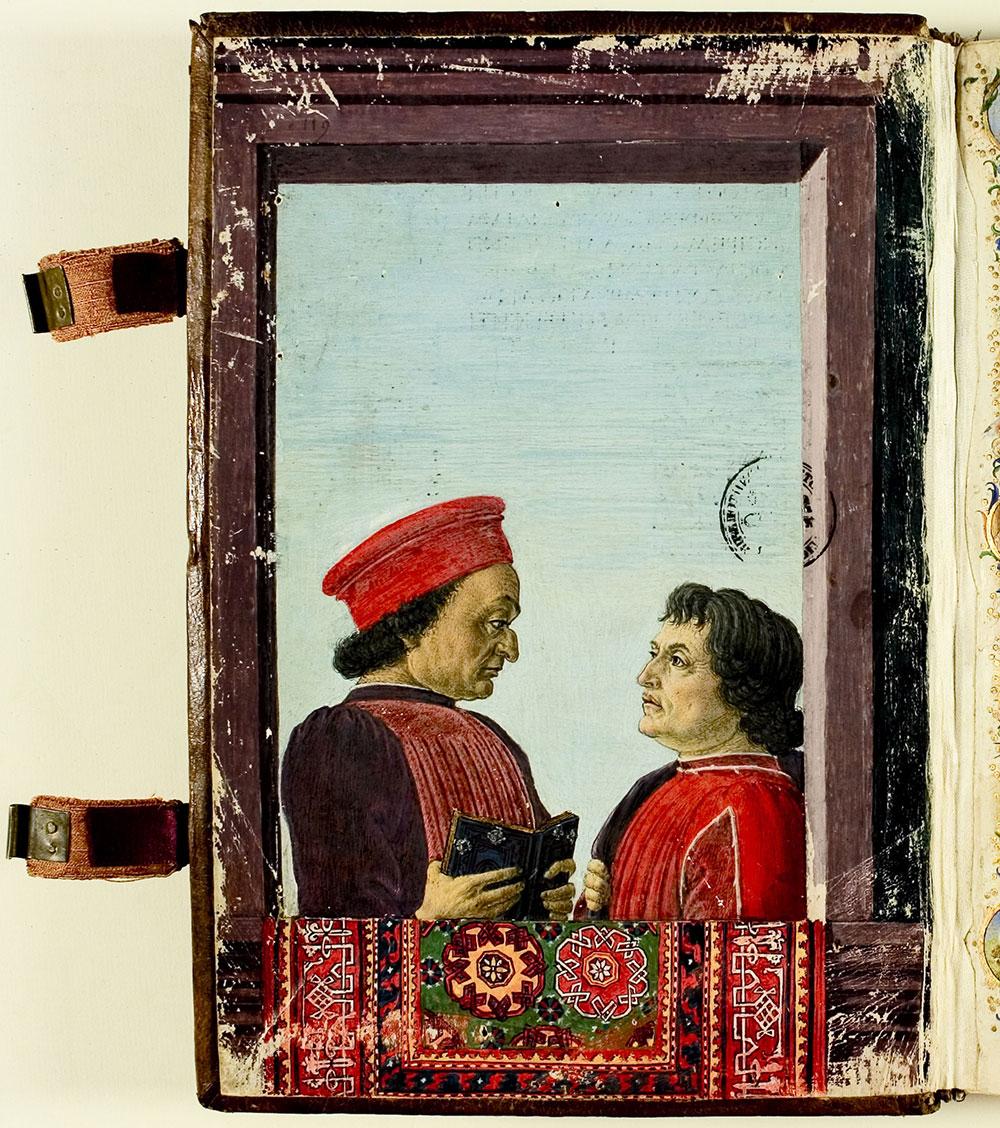 Botticelli, Montefeltro and Landino, The Sultan's World